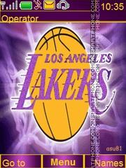 Lakers tema screenshot