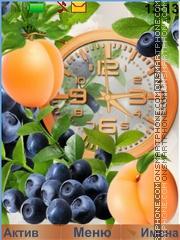 Fruit and berry mix es el tema de pantalla