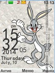 Bugs Bunny tema screenshot
