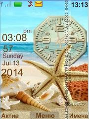 Shells theme screenshot