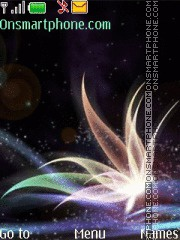 Abstraction theme screenshot