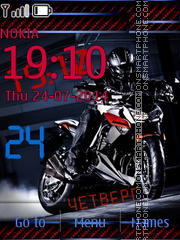 Kawasaki theme screenshot