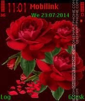 Three roses es el tema de pantalla