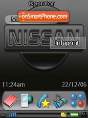 Nissan Rd theme screenshot