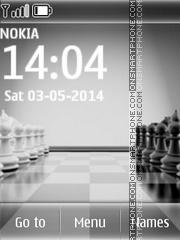 Chess 08 theme screenshot