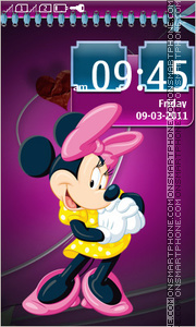 Minnie Mouse 09 theme screenshot