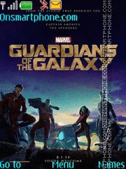 Guardians of the Galaxy theme screenshot