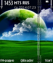 Green-World es el tema de pantalla