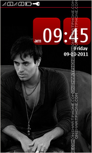 Enrique Iglesias 07 theme screenshot