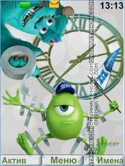Monsters University tema screenshot