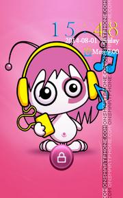 Love Music theme screenshot