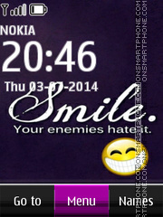 Smile 2014 theme screenshot