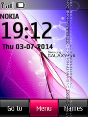 Samsung Galaxy S5 01 theme screenshot