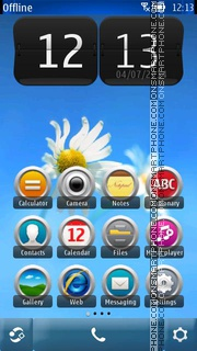 Light Camomile theme screenshot