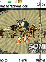 Sonic & The Black Knight tema screenshot