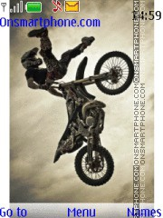 Motocross tema screenshot