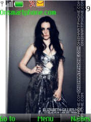 Elizabeth Gillies theme screenshot
