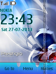 Prestigio Tablet Theme-Screenshot