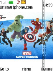 Disney Infinity 2.0 Marvel Super Heroes tema screenshot