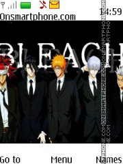Bleach Tuxedo theme screenshot