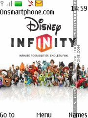 Disney Infinity tema screenshot