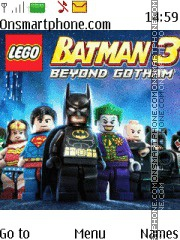LEGO Batman 3 tema screenshot