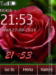 12 Roses Pics theme screenshot