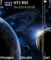 Planet tema screenshot