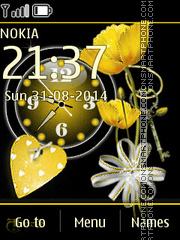 Yellow Tulips 05 es el tema de pantalla