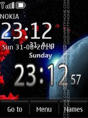 Cosminc Clock es el tema de pantalla