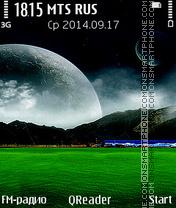 Any Terra tema screenshot
