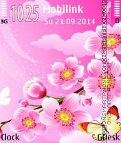 Cherry blossom es el tema de pantalla