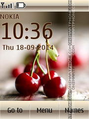 Cherries 05 es el tema de pantalla