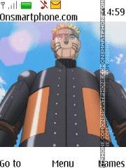 Naruto Ninja Storm theme screenshot