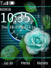 Blue Rose 05 theme screenshot