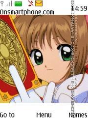 Sakura Card Captor theme screenshot