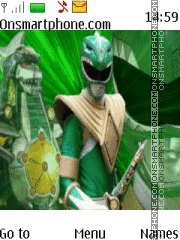 Power Rangers theme screenshot