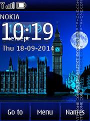 Night London es el tema de pantalla