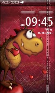 Dragon Love theme screenshot