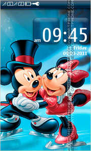 Mickey and Minnie 03 theme screenshot