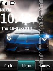 Lamborghini Aventador LP 700-4 es el tema de pantalla