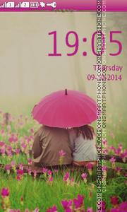 Romantic Day theme screenshot