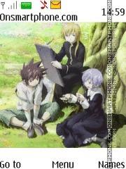 Saint Seiya Lost Canvas theme screenshot