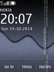 Grey Abstract 01 theme screenshot