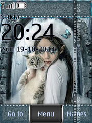 My girlfriend loves cats es el tema de pantalla