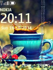 Black Tea es el tema de pantalla