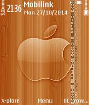 Glass apple theme screenshot