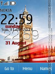 London Big Ben Clock es el tema de pantalla