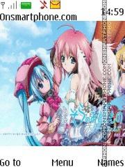 Sora no Otoshimono theme screenshot