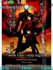 Fate Stay Night theme screenshot